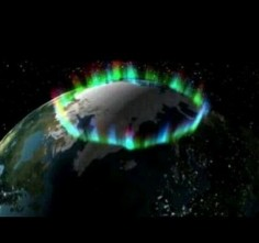 Northern Lights from space from NASA