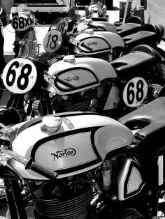 Norton Manx Racers