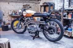 Norton Scrambler - Fuel-online - Auf der 8 - Van Hai Nguyen #motorcycles #scrambler #motos |
