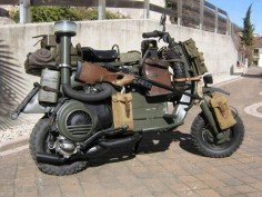 Not a Lambretta - a Military Vespa