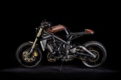 Not Your Usual Rental: You can hire this custom Triumph Street Triple to ride around Cape Town.