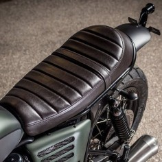 NOW AND THEN | overboldmotorco: Macco seat #macco #