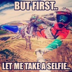 Now that's how you do it! MX Meme Motocross Selfie