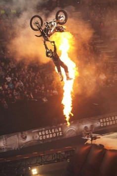 Nuclear Cowboyz at the Amber Cowart Center. Metal Mulisha