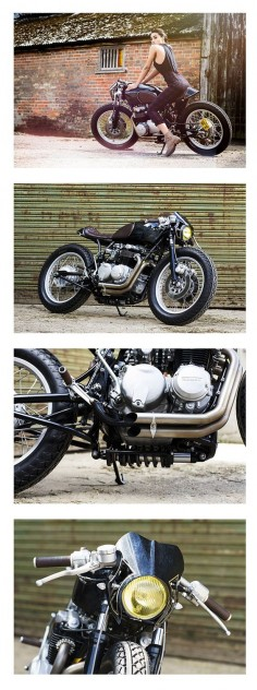 OEM Ripon Honda CB 550 Café Racer Old Empire Motorcycles