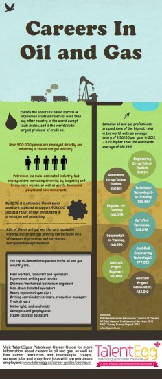 oil infographic Infographic: Drilling Deeper Into Careers In The Oil And Gas Industry
