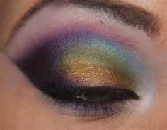 oil slick eyeshadow