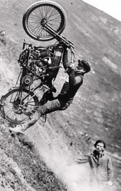 Old Harley Davidson Hill Climber!