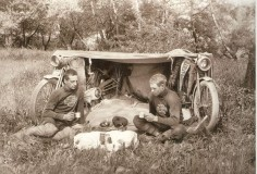 Old school camping!