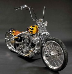 Old School Shovel harley davidson