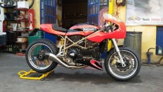 Ottonero Cafe Racer: MP Racing / Ducati 748 CR
