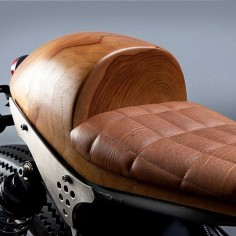 OVERBOLD MOTOR CO. — Got wood? The @arxaperiment Honda CB700 Cafe