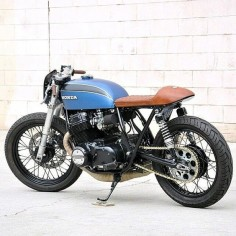 OVERBOLD MOTOR CO. — #honda #cb #custom #bike #caferacer #