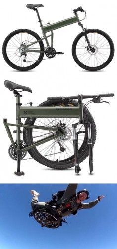 Paratrooper-bike