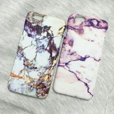 Phone cover: marble, iphone, gold, white, pink, tumblr, style, marblecase, white marble iphone case, tumblr fashion, pastel phone case - Wheretoget