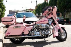Pink Harley-Davidson