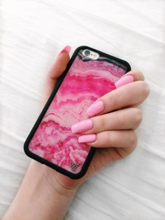 Pink Stone iPhone 6/6s Case - Wildflower cases