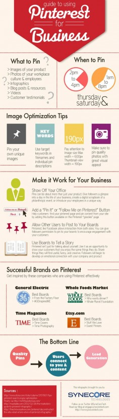 Pinterest for Business #infographic
