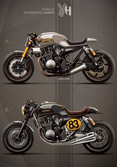 - 1992 Honda CB 750 / It rocks bikes - by Holographic Hammer