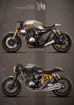 - 1992 Honda CB 750 / It rocks bikes - by Holographic Hammer