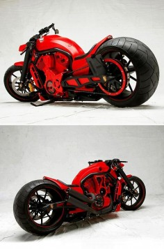 PORSCHE CUSTOM MOTORCYCLE