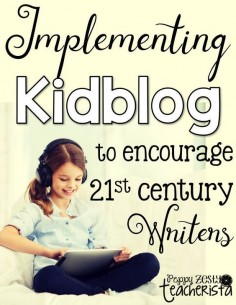 Prepare your students to be ready for the 21st century workforce by teaching them skills that apply to them. Use Kidblog for Writer's Workshop