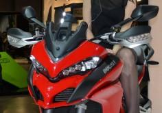 Protagonista a Eicma 2014 la nuova Ducati Multistrada 1200 S Tra le tante novità presentate a Eicma 2014 dalla