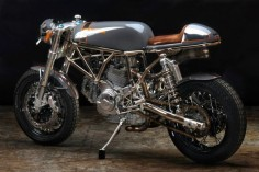 """Pyro"" 2006 Ducati Sport Classic by Revival Cycles"