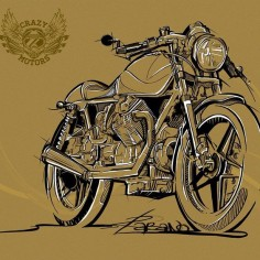 r_a_b_a_n_o's photo #illustration #motorcycles |