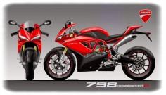 Racing Cafè: Design Corner - Ducati 798 Desmosport R by Oberdan Bezzi