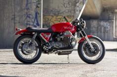 """Racing Cafè: Moto Guzzi 850 T3 """"Condor"""" 2011 by Officine Rossopuro"""