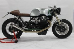 "Racing Cafè: Moto Guzzi ""The Fugitive "" by Radical Guzzi"