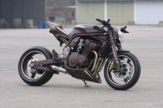 "Racing Cafe: Suzuki Bandit 1200 ""Hot Chocolate"" by Bad-Bikes"
