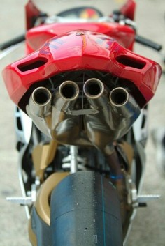 Racing Exhaust MV Agusta F4 1000