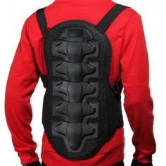 Racing Motorcycle Body Back Armor Spine Protective Jacket Gear