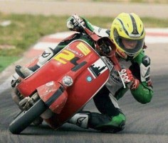 Racing the Vespa