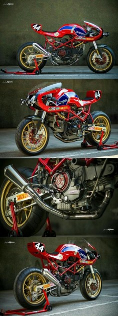 Radical Ducati Monster M900