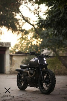 Rajputana Customs Bonneville Scrambler