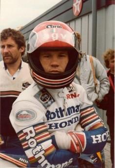Randy Mamola and Jeremy Burgess