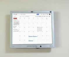 Raspberry Pi Wall Mounted Google Calendar I need this!! But I really need someone to instal it at my home