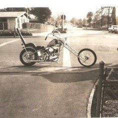 Real Deal Old School Chopper | Totally Rad Choppers