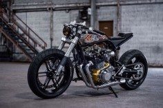 Rebellious spirit. Suzuki GSX1100 Cafe Racer by Ed Turner #motorcycles #caferacer #motos |