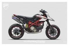 Reddit commissioned illustration #4 - Imgur Ducati Hypermotard