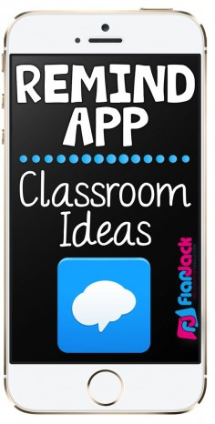 Remind App Classroom Ideas