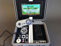 Retro Pie Box - Portable Raspberry Pi Emulation Console by NickRBrewer.
