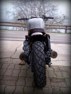 "Revolution! Honda CB750 Seven Fifty Rat Bike ""Babushka"" by Alex #motorcycles #ratbike #motos |"