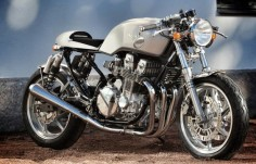 Rewheeled Honda CB750 Cafe Racer - via Return of the Cafe Racers