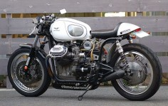 Ritmo Sereno street legal Guzzi Ambassador ~ Return of the Cafe Racers