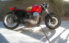 RocketGarage Cafe Racer: 1969 Moto Guzzi V700