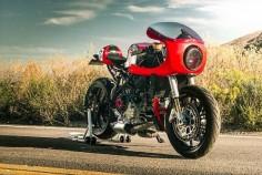 RocketGarage Cafe Racer: Ducati 749 Cafe Racer